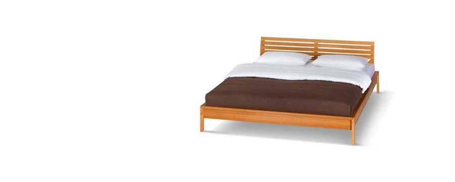 team 7 valore bett aus naturholz mit sprossen kopfhaupt. Black Bedroom Furniture Sets. Home Design Ideas